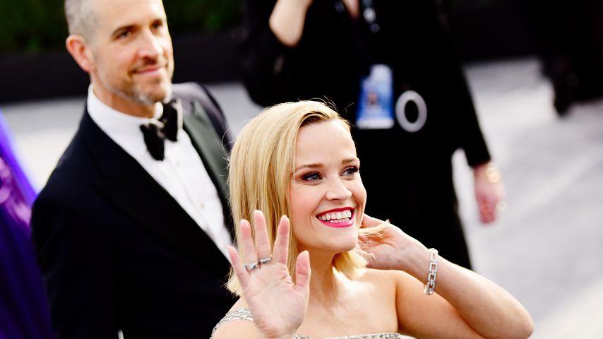 Schauspielerin Reese Witherspoon und Jim Toth