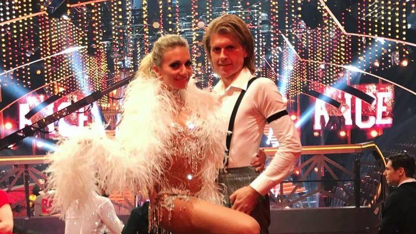 """Regina Luca und John Kelly bei """"Let's Dance"""""""