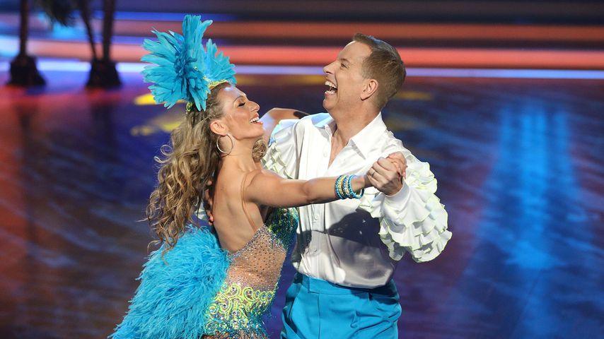 """Regina Luca und Thomas Hermanns bei """"Let's Dance"""""""