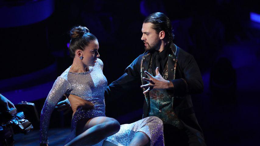 """Renata Lusin und Jimi Blue Ochsenknecht bei """"Let's Dance"""""""