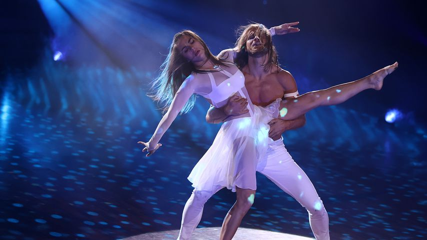 """Renata Lusin und Rúrik Gíslason im """"Let's Dance""""-Halbfinale 2021"""