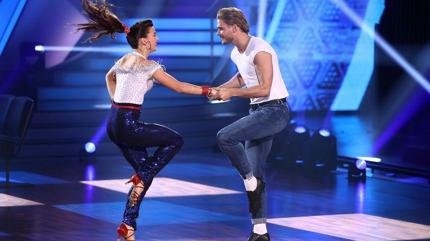 """Renata Lusin und Rúrik Gíslason in der dritten """"Let's Dance""""-Show 2021"""