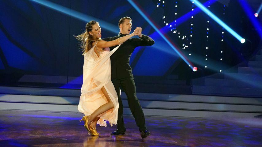 """Renata und Valentin Lusin in der achten """"Let's Dance""""-Liveshow"""