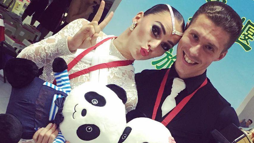 Renata und Valentin Lusin, Profitänzer
