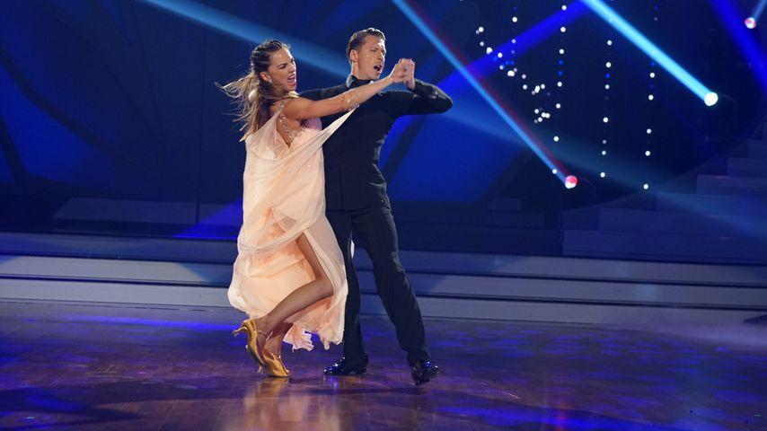 """Renata und Valentin Lusin, """"Let's Dance""""-Profitänzer"""