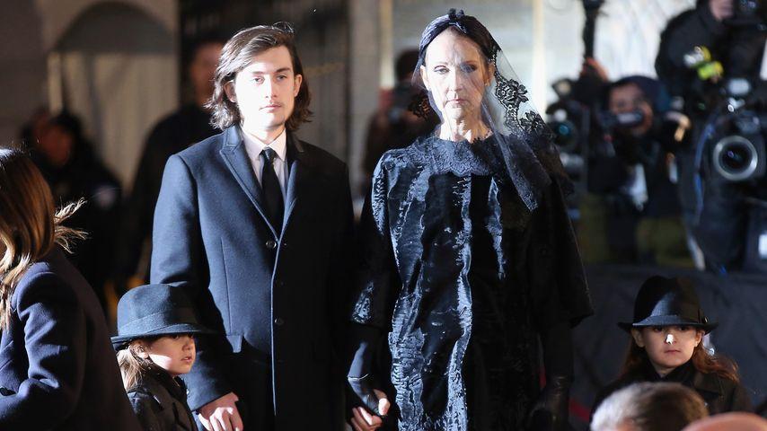 Beerdigung: Celine Dions Sohn (14) hält rührende Trauerrede