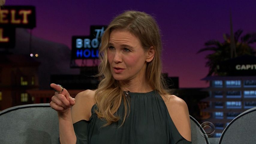 "Renée Zellweger bei  der ""The Late Late Show with James Corden"""