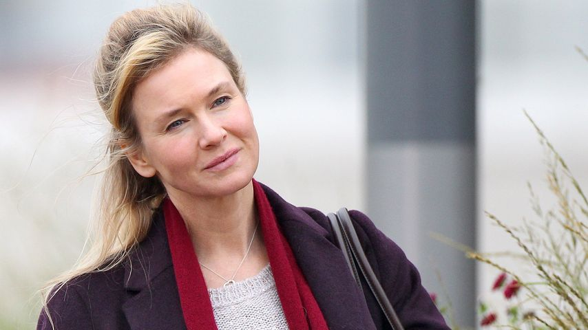 "Renee Zellweger am Set von ""Bridget Jones's Baby"" in Stratford"