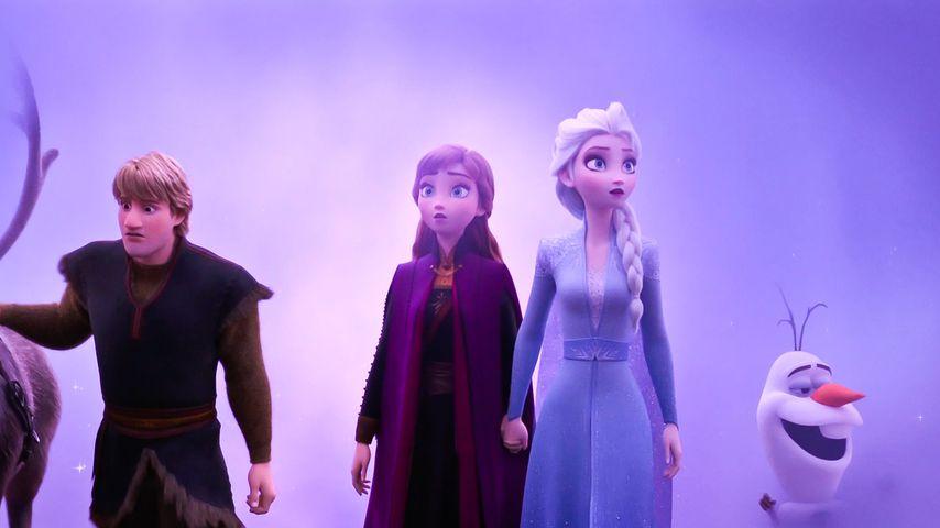 """Rentier Sven, Kristoff, Anna, Elsa und Olaf in """"Die Eiskönigin 2"""""""