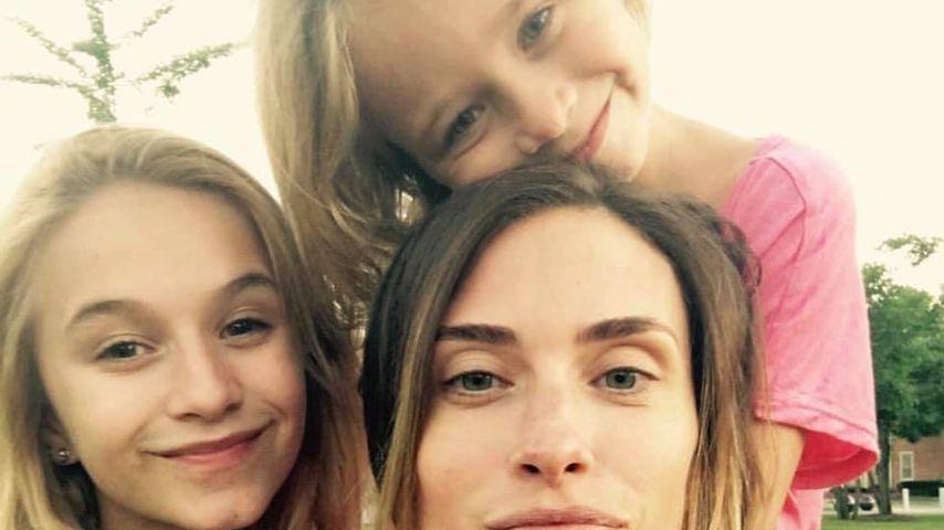 Rhea Durham mit ihren Kindern Ella und Grace
