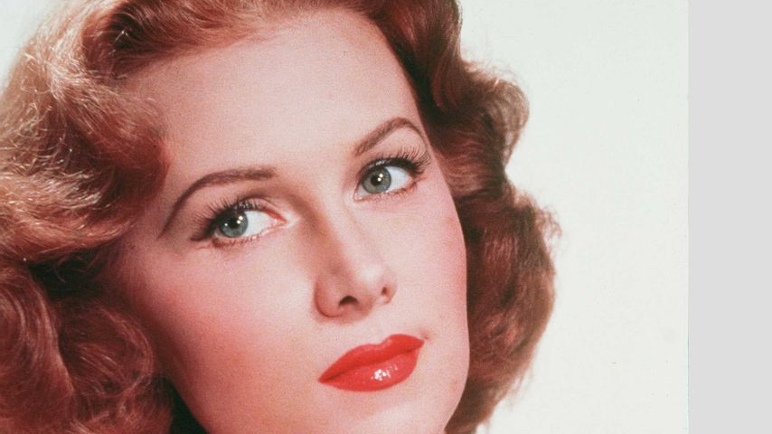 Schauspielerin Rhonda Fleming 1956