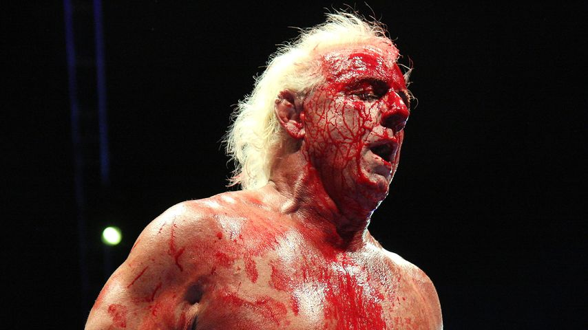 Ric Flair im Wrestling-Ring