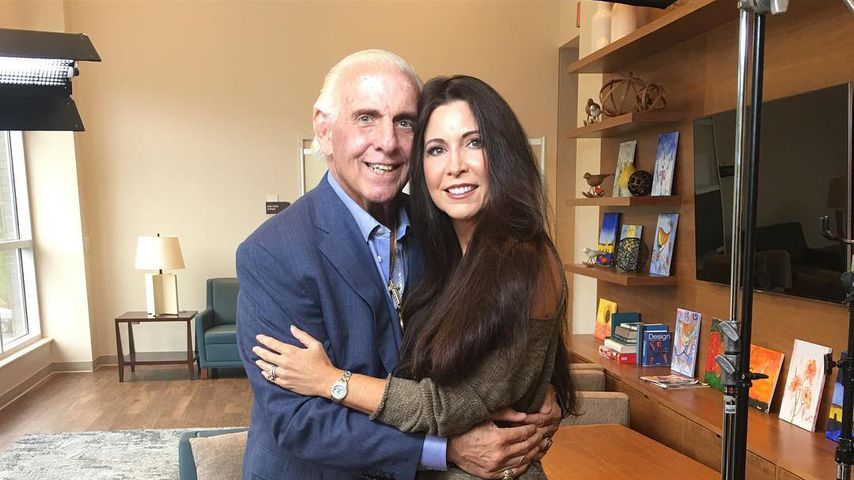 Ric Flair mit Wendy Barlow