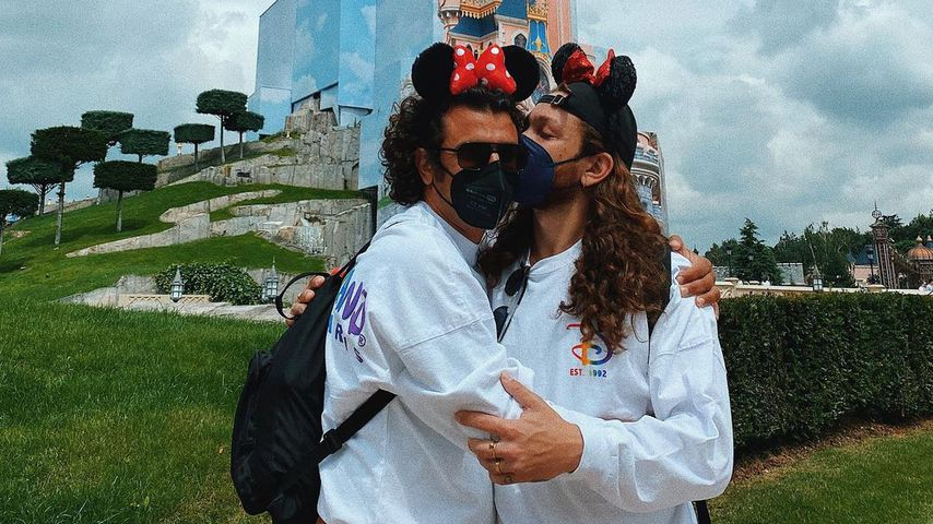 Riccardo Simonetti mit seinem Freund Steven