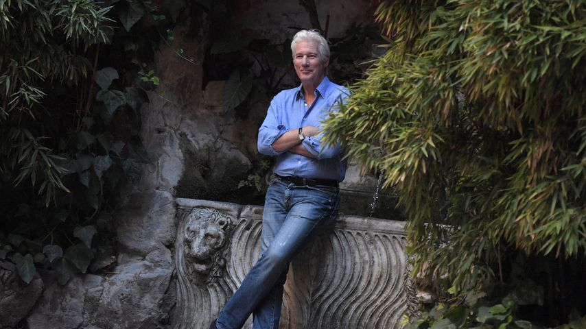 Richard Gere bei einem Photocall in Rom