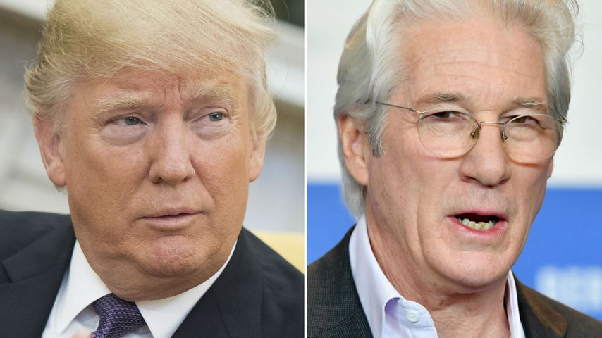 Dinner-Date? Richard Gere erteilt Trump 'ne Abfuhr!