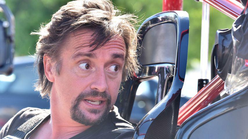 """Flammenhölle: Ex-""""Top Gear""""-Star verletzt sich bei Autocrash"""