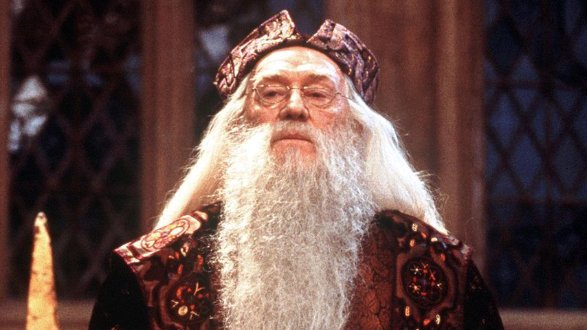 Richard Harris als Albus Dumbledore