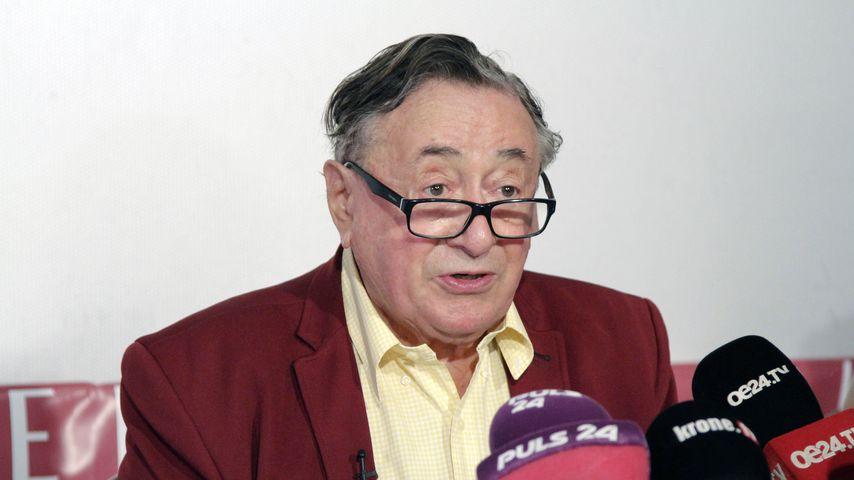 Richard Lugner im Januar 2020 in Wien