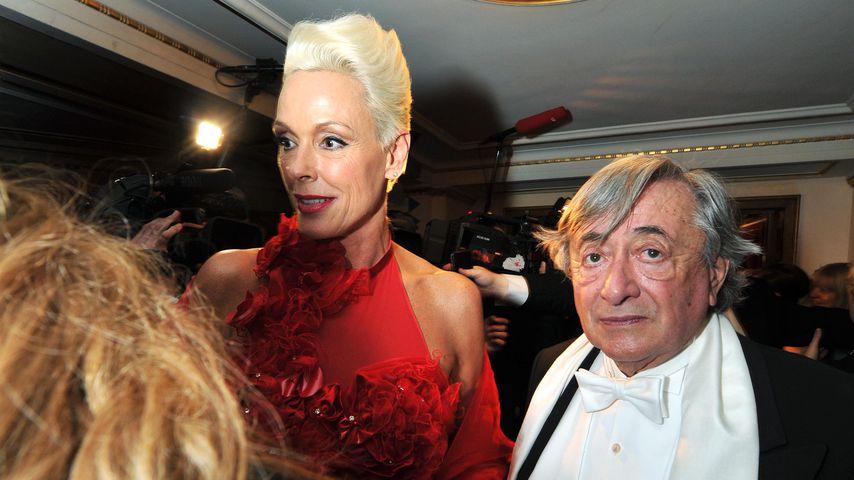 Richard Lugner und Brigitte Nielsen beim Wiener Opernball 2012