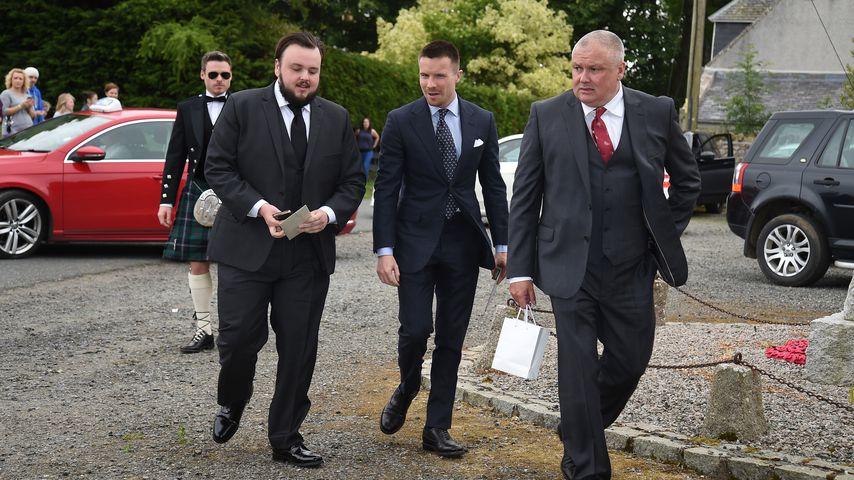 Richard Madden, John Bradley-West, Joe Dempsie & Conleth Hill in Aberdeenshire