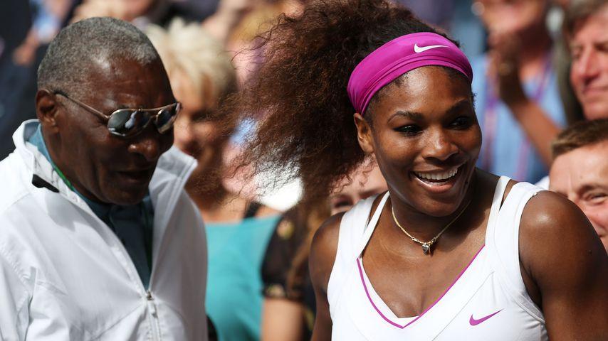 Richard und Serena Williams im Juli 2012 in London