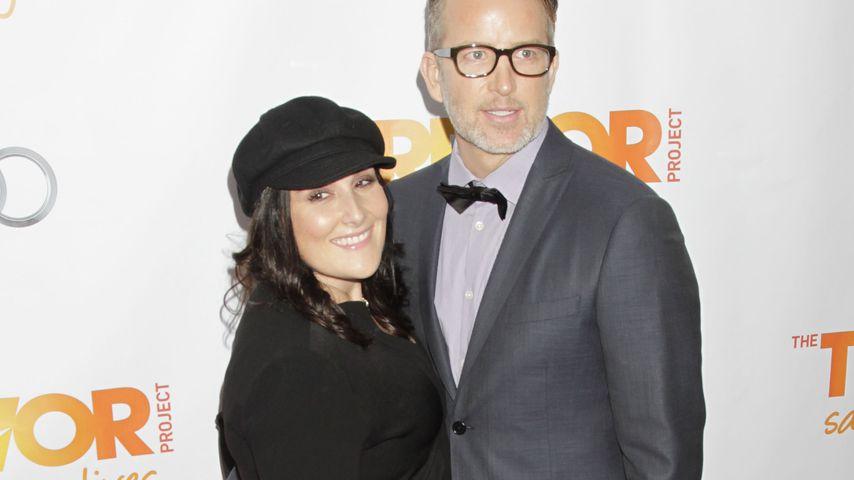 Ricki Lake und ihr Ex-Mann Christian Evans im Dezember 2012