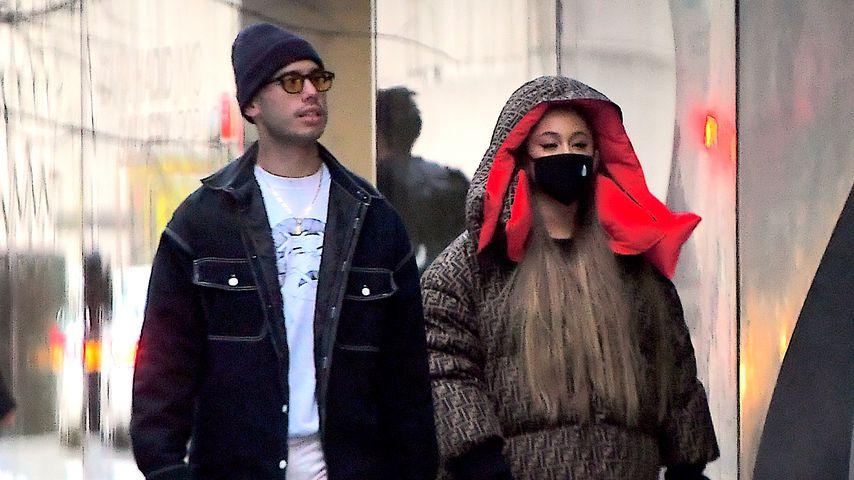 Geht da was? Ariana spaziert mit Ex Ricky durch New York!