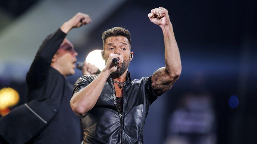 Ricky Martin bei einem Auftritt im Februar 2020
