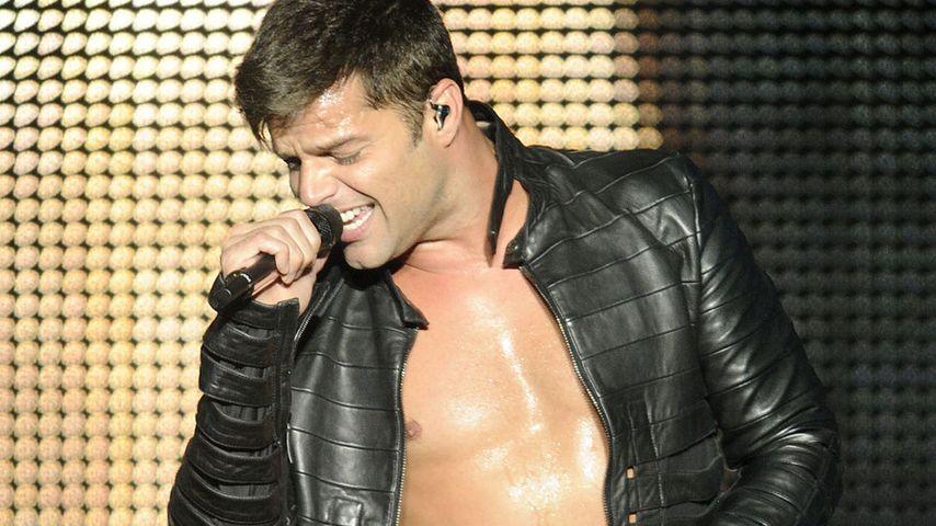 Ricky Martin bei einem Auftritt in den Niederlanden