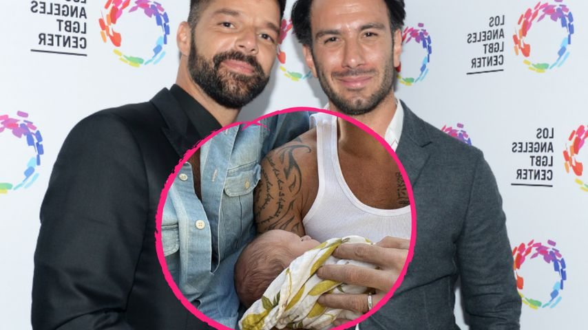 Dank Leihmutter: Ricky Martin und Jwans viertes Baby ist da