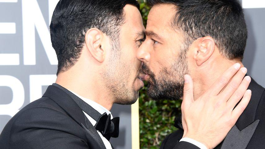 Jwan Yosef und Ricky Martin auf den Golden Globes 2018