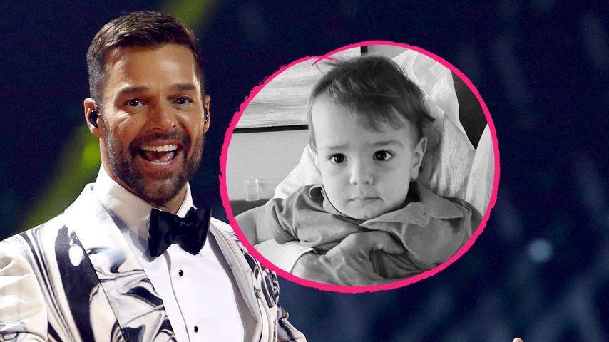 """""""Mein Baby"""": Ricky Martin zeigt, wie groß Söhnchen Renn ist"""