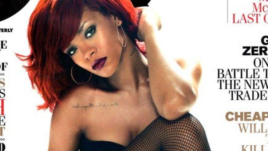 Rihanna: Sexy Cover-Shoot für das GQ-Magazin!