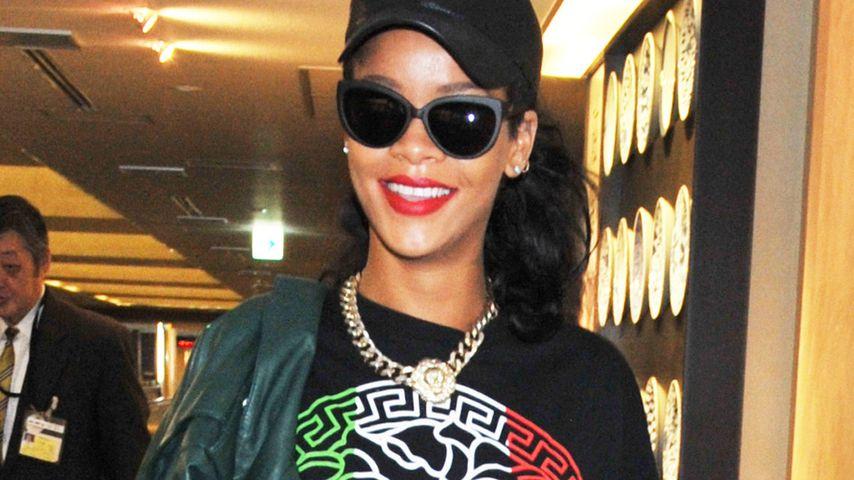 Modische Flaggen-Vorliebe bei Rihanna