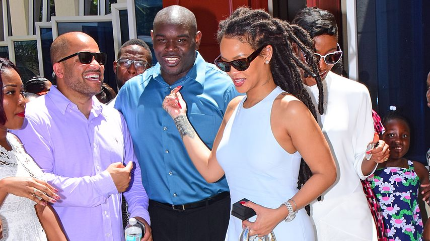 Rihanna auf Barbados