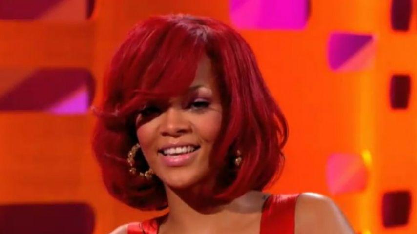 Süß! Rihanna wurde am Flughafen überrascht