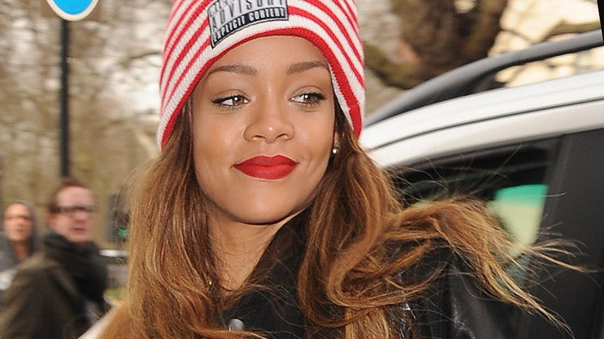 Fashion-Twins: Rihanna trägt Jacke von Chris Brown