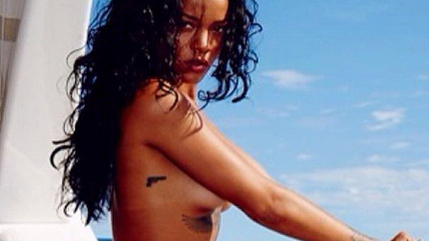 So heiß wie nie! Sexy Rihanna posiert oben ohne