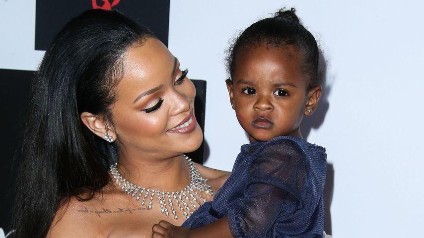 Bezaubernde Begleitung: Rihannas Nichte verzückt Fotografen