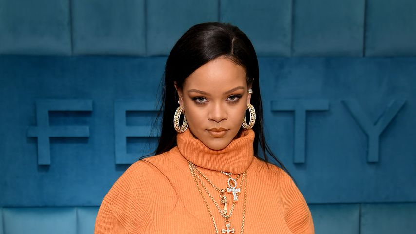 Rihanna im Februar 2020 in New York