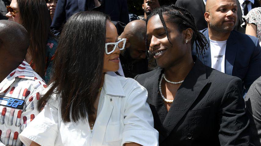 Nach Beziehungs-Aus: Hier turteln RiRi und Rapper ASAP Rocky