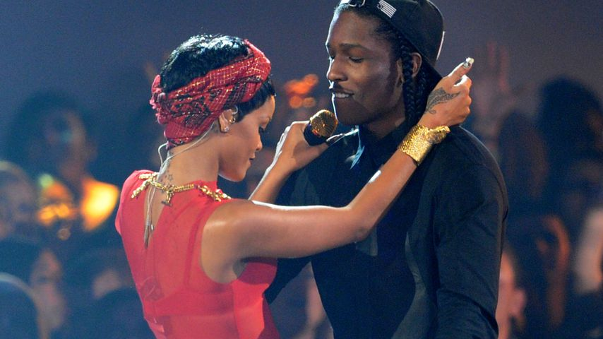 Rihanna und A$AP Rocky, 2012