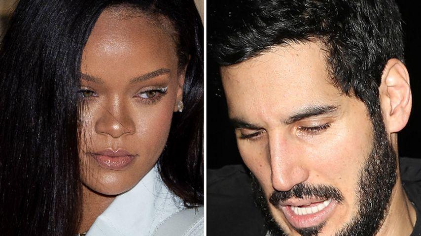 Rihanna & Hassan: Heftiger Urlaubs-Zoff wegen Fußball?