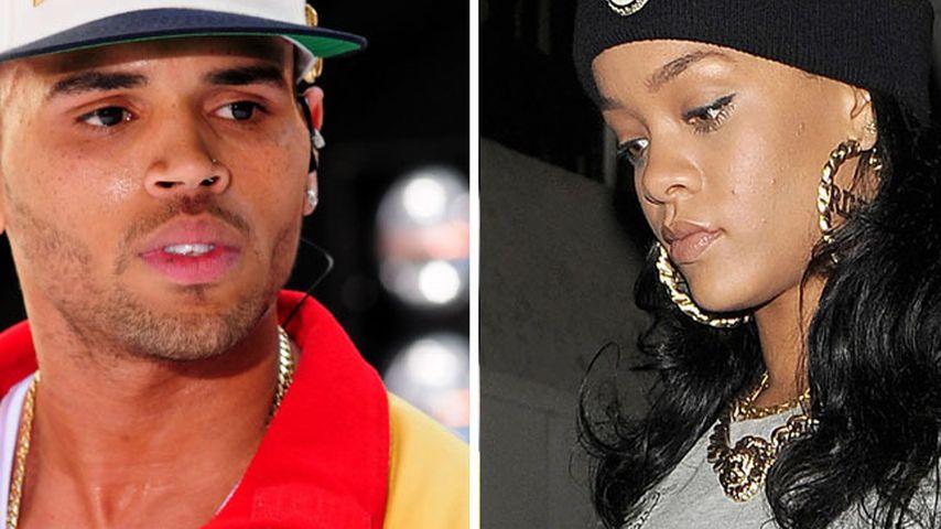 Auch Chris Brown trauert mit Rihanna um Oma Dolly