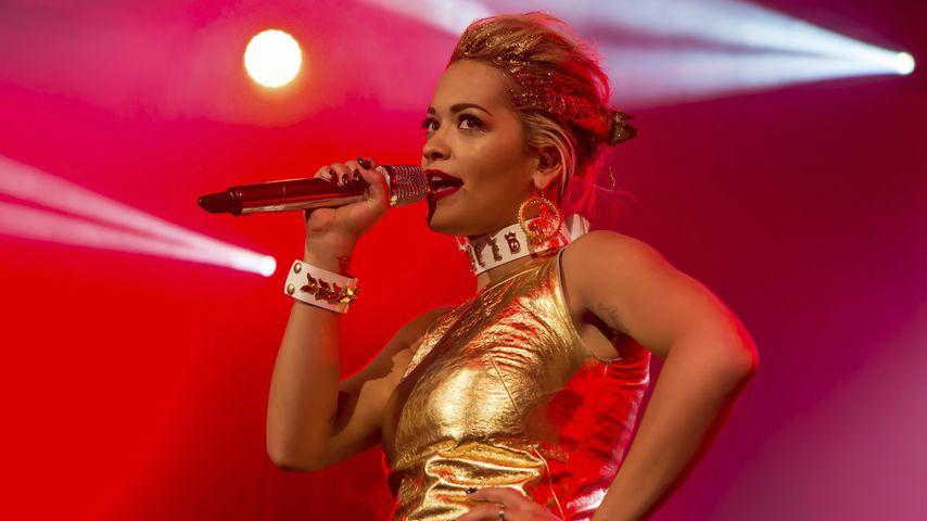 Rita Ora auf der Bühne