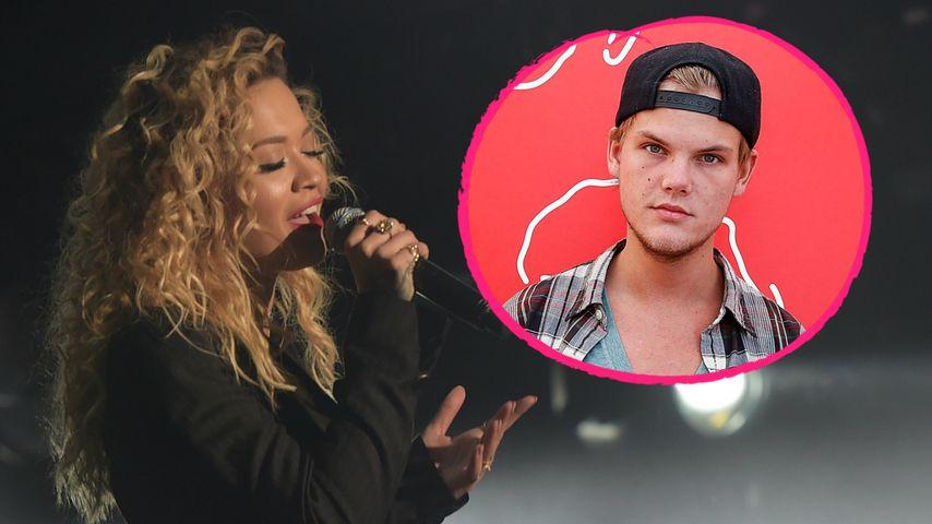 Tränen-Geste: Rita Ora performt Aviciis (†28) letzten Song