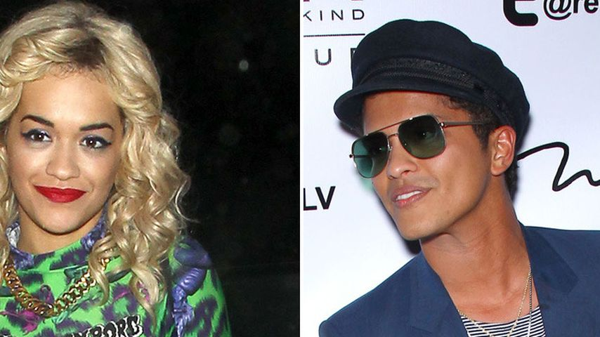 Rita Ora & Bruno Mars: Liebe auf den 1. Blick!