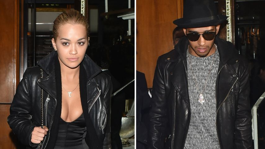 Lewis Hamilton: So turtelig feiert er mit Rita Ora in London