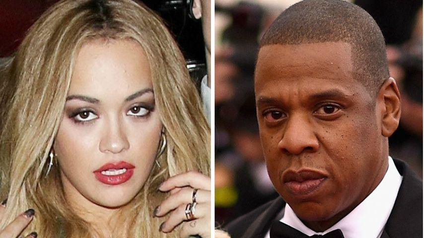 Klare Kampfansage: Rita Ora zieht gegen Jay-Z vor Gericht